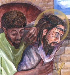 Helping Jesus Carry the Cross