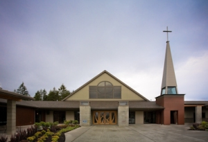 St.  Edward's Catholic Church, Shelton, WA