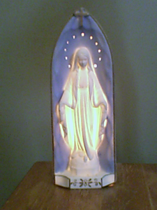 Virgin Mary Night Light