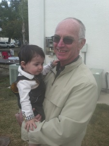 Jacob with his favorite priest, Fr. John Deary, O.S.A.