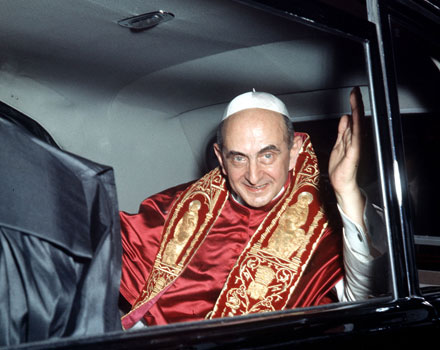 Pope Paul VI (Photo: PA). Accessed at CatholicHerald.co.uk, May 18, 2014.