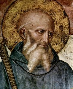St. Benedict of Nursia by Fra Angelico. Via Wikipedia.org.