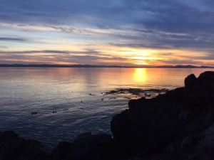 Lime Kiln State Park sunset (photo credit: Rhonda Miska)